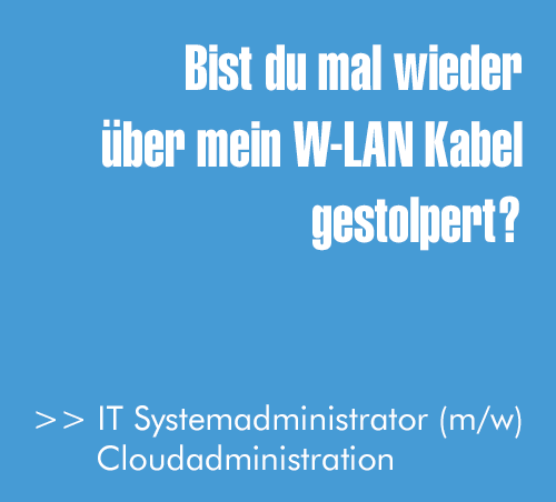 IT-Systemadministrator (m/w) Cloudaministration