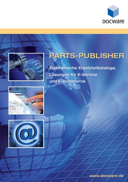 PARTS-PUBLISHER Produktbroschüre